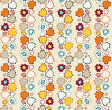 Floral seamless pattern. Floral abstract decorative seamless pattern. Contains no transparency. EPS10 Stock Images