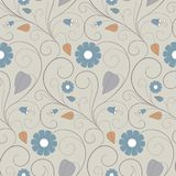 Floral Seamless Pattern. Royalty Free Stock Image