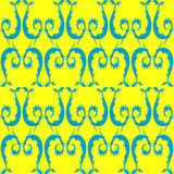 A floral seamless pattern. Royalty Free Stock Photo