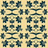 A floral seamless pattern. Royalty Free Stock Image