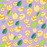 Floral seamless pattern. In vector Stock Photography