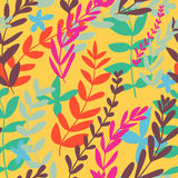 Floral seamless pattern. Colorful bright floral seamless pattern Royalty Free Stock Image