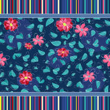 Floral seamless pattern background Stock Photography