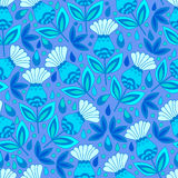 Floral seamless pattern background. Royalty Free Stock Photos