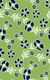Floral seamless pattern background with green texture royalty free stock photography