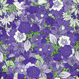 Floral seamless pattern Stock Photos
