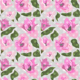 Floral seamless pattern background Stock Photo