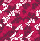 Floral seamless pattern background. Retro style. Wild roses Royalty Free Stock Image