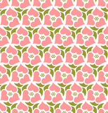Floral seamless pattern background. Retro style. Wild roses Royalty Free Stock Images