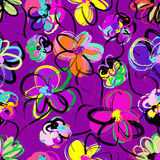Floral seamless pattern background Royalty Free Stock Photography