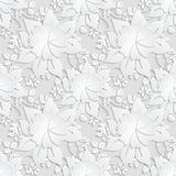 Floral  Seamless Pattern Background. Royalty Free Stock Image