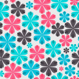 Floral Seamless Pattern Background for Wedding and Royalty Free Stock Photos