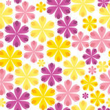 Floral Seamless Pattern Background for Wedding and Royalty Free Stock Images