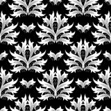 Damask flowers seamless pattern. Baroque background. Floral wallp Stock Photo