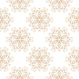 Floral seamless pattern. Beige brown abstract background Royalty Free Stock Images