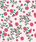 Pattern, floral, flower, seamless, wallpaper, design, abstract, illustration, art, flowers, texture, nature, ornament, decoration, stock illustration