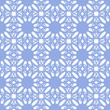 Floral seamless pattern blue color Royalty Free Stock Images