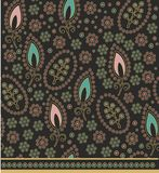 Decorative paisley pattern Stock Photography