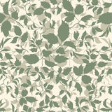 Floral seamless pattern Branch with leaves ornamental background Royalty Free Stock Image