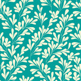 Floral seamless pattern. Can be used for wallpaper, pattern fills, web page background,surface textures. Vector Royalty Free Stock Photos