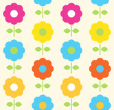Spring flower seamless pattern vector design Stock Image
