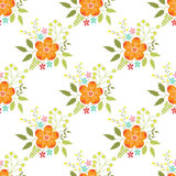 Floral seamless pattern Royalty Free Stock Image