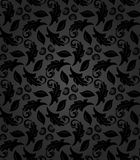 Floral Seamless  Pattern. Floral  dark ornament. Seamless abstract fine oriental pattern Stock Photos
