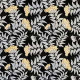 Floral seamless pattern. Decorative background Stock Photo