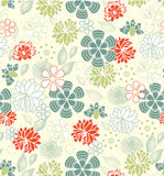 Floral seamless pattern,  design Royalty Free Stock Image