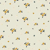 Floral seamless pattern design Royalty Free Stock Photography