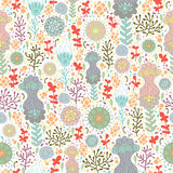 Floral seamless pattern Royalty Free Stock Photos