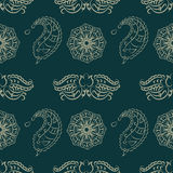 Floral  seamless pattern 2 eps 10  Royalty Free Stock Photos