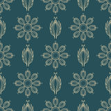 Floral  seamless pattern 4 eps 10  Royalty Free Stock Images