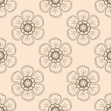 Floral  seamless pattern 6  eps 10  Royalty Free Stock Photography