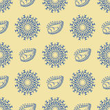 Floral  seamless pattern 7  eps 10  Royalty Free Stock Images