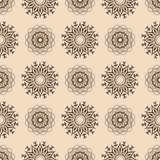 Floral  seamless pattern 8  eps 10  Royalty Free Stock Photo