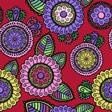 Floral seamless pattern. This is file of EPS10 format Stock Images
