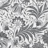 Floral seamless pattern. Flourish oriental ethnic background. Or. Floral pattern. Flourish tiled oriental ethnic background. Arabic ornament with fantastic Royalty Free Stock Photography