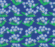 Floral seamless pattern. flower background Royalty Free Stock Photos