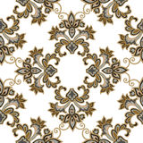 Floral seamless pattern. Flower background. Floral tile ornament Royalty Free Stock Photography