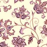 Floral seamless pattern. Flower background. Floral tile ornament Stock Image