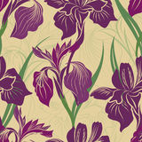 Floral seamless pattern. Flower background. Flourish background Stock Photography