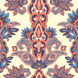 Floral seamless pattern. Flower background. Flourish oriental ornament Stock Image