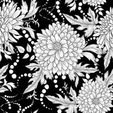 Floral seamless pattern. Abstract ornamental flowers. Floral seamless pattern. Flower background. Flourish ornamental summer wallpaper with flowers stock illustration