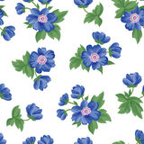 Floral seamless pattern. Flower background. Flourish texture Stock Photography
