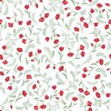 Floral seamless pattern. Flower background. Flourish texture. Floral pattern. Flower seamless background. Flourish ornamental garden royalty free illustration