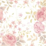 Floral seamless pattern. Flower background. Ornamental garden fl. Floral seamless pattern. Flower  background. Flourish ornamental garden Stock Image