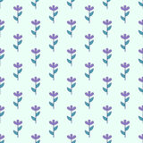 Floral seamless pattern, flower background, vector Royalty Free Stock Images