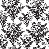 Floral seamless pattern. Flower bouquet background. Floral seaml Royalty Free Stock Image