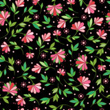 Floral seamless pattern. Stock Photography
